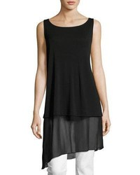 Eileen Fisher Stretch Silk Jersey Tunic