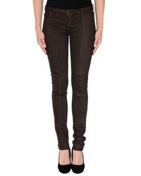 Dark Brown Skinny Jeans