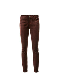 Paige Mid Rise Skinny Jeans