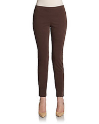 Dark Brown Skinny Pants for Women | Women's Fashion