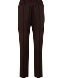 Haider Ackermann Striped Satin Slim Leg Pants