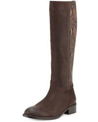 Alaina snake print knee boot tmoro medium 676263
