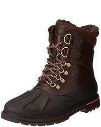 Dark Brown Snow Boots