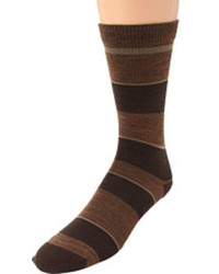 Dark Brown Socks