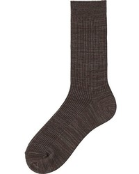 Uniqlo Colored Calf Length Socks