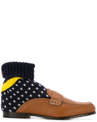 Loewe Sock Boot Loafers