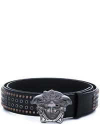 Versace Medusa Studded Belt