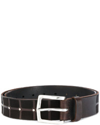 Orciani Grid Studded Belt