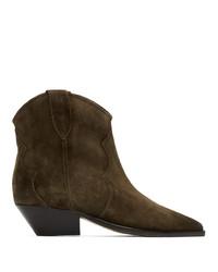 Isabel Marant Brown Dewina Boots