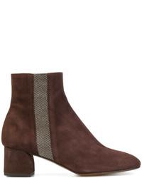 Castaner Castaer Stripe Detail Ankle Boots