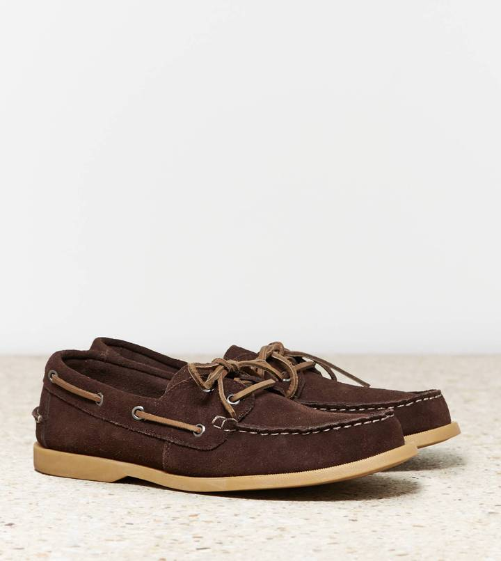 American Eagle Leather Boat Shoes