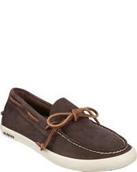 SeaVees Leather Lace Boat Shoe