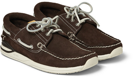 VISVIM Hockney Suede Boat Shoes | Where to buy & how to wear