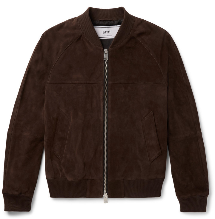 Ami Suede Bomber Jacket | Where to buy & how to wear