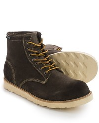 Eastland Barron Plain Toe Boots Suede