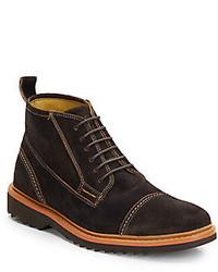 Robert Graham Bedford Suede Cap Toe Boots