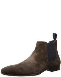d3039bd7ddc Hugo Boss Men s Dark Brown Suede Chelsea Boots from Amazon.com ...