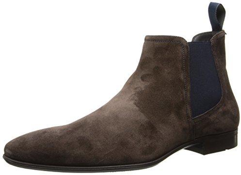 HUGO BOSS Suede Chelsea Boots in Dark KdRwgr5th