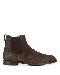 Ermenegildo Zegna Leather Ankle Boots
