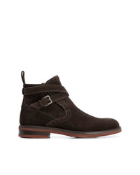Salvatore Ferragamo Wrap Around Strap Boots