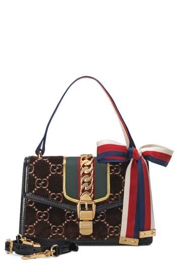 89d8048131b ... Crossbody Bags Gucci Small Sylvie Velvet Shoulder Bag
