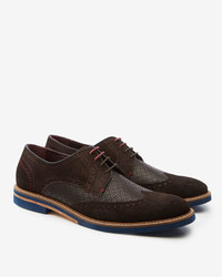 Ted Baker Caaux Suede Derby Brogues