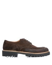Eleventy Lace Up Derby Shoes