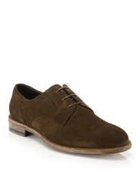Ermenegildo Zegna Suede Derby Bercy Shoes