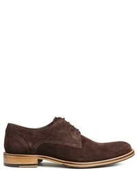 H&M Suede Derby Shoes