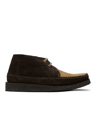 Comme des Garcons Homme Deux Brown Padmore And Edition Willow Boots