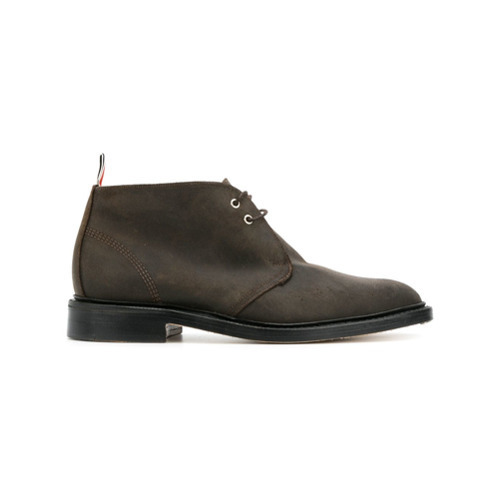 Thom Browne Chukka Boot In Suede
