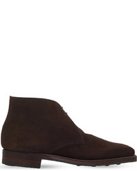Crockett Jones Crockett Jones Tetbury Suede Chukka Desert Boots