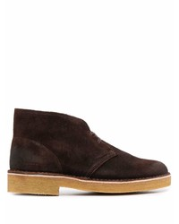 Clarks Lace Up Suede Desert Boots