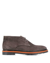 PS Paul Smith Low Heel Lace Up Boots