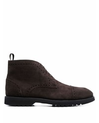 Tom Ford Round Toe Lace Up Boots