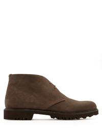 Men s Suede Boots by Giorgio Armani   Men s Fashion   Lookastic.com d0fb50cd4eb