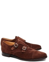 Brooks Brothers Peal Co Double Monk Straps