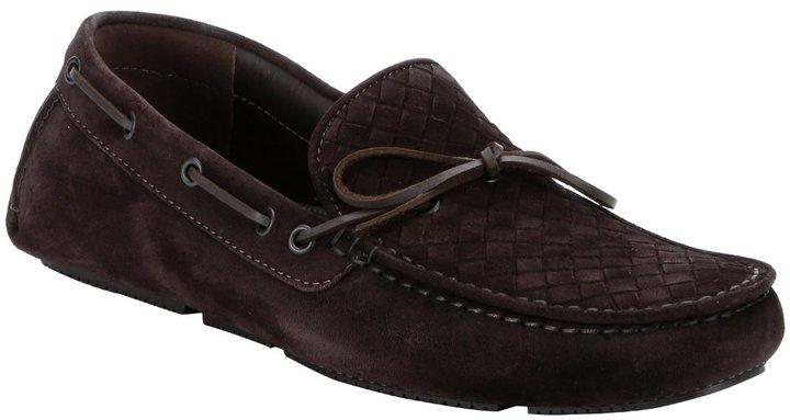 Intrecciato suede loafers Bottega Veneta COf8qDAtat
