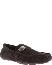 Calvin Klein Merl Loafer Navy Suede Shoes