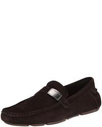 Calvin Klein Merl Suede Slip On Loafer  Choose Colorsz