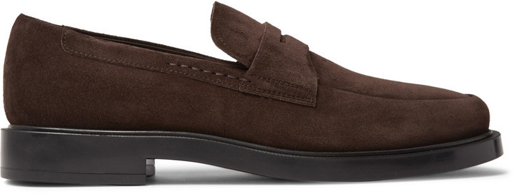 Tod's Suede Penny Loafers, $565 | MR