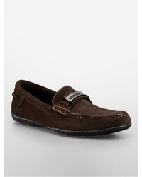 Calvin Klein Wallace Suede Slip On Loafer