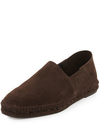 Tom Ford Suede Slip On Espadrille