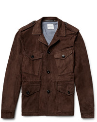 Paul Smith Slim Fit Suede Field Jacket
