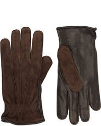 Barneys New York Bicolor Gloves