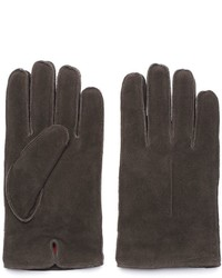 Woolrich Suede Fleece Lined Gloves
