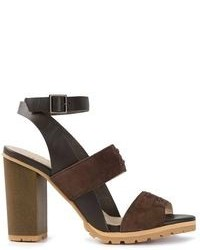 See by chloe see by chlo colour block sandals medium 96841