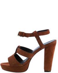 Tila March Suede Sandals