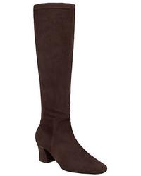 Delman Cyera Suede Knee High Boots