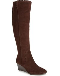 Mia knee high wedge boot medium 816839